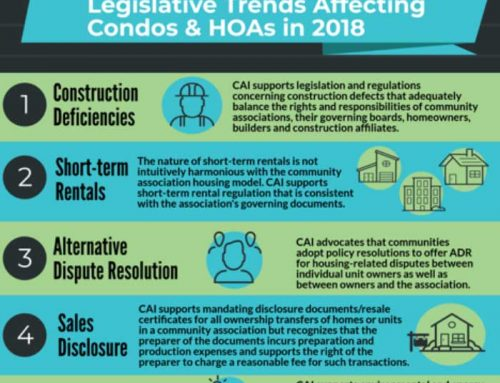 Legislative Trends Affecting Condos and HOAs in 2018